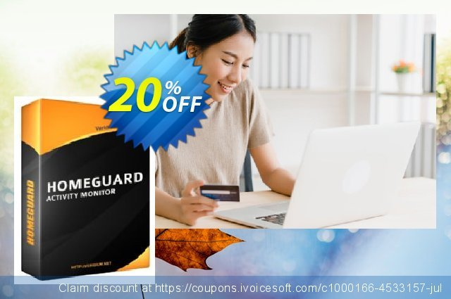 HomeGuard Activity Monitor discount 20% OFF, 2021 Happy New Year discounts