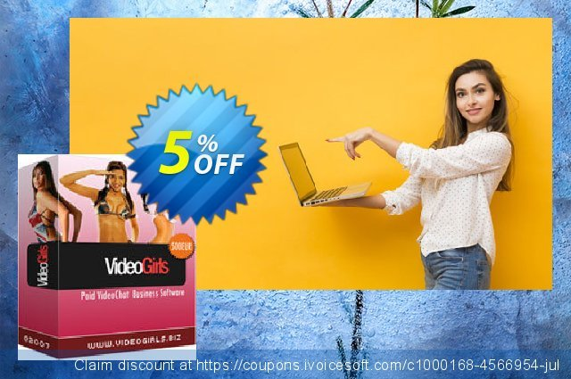 VideoGirls BiZ Turnkey PPV Video Chat Script with Premium3B Hosting Monthly 令人吃惊的 产品销售 软件截图