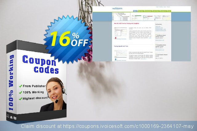 WCFStorm Enterprise - Unlimited discount 16% OFF, 2020 Happy New Year offering sales