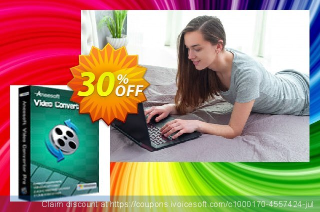 Aneesoft Video Converter Pro discount 30% OFF, 2021 New Year's Weekend offering sales