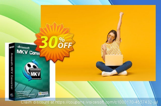 Aneesoft MKV Converter discount 30% OFF, 2020 Spring offering sales