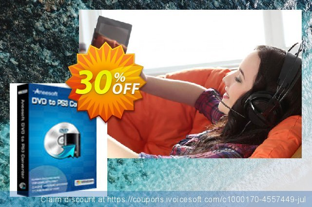 Aneesoft DVD to PS3 Converter discount 30% OFF, 2021 Happy New Year offering sales