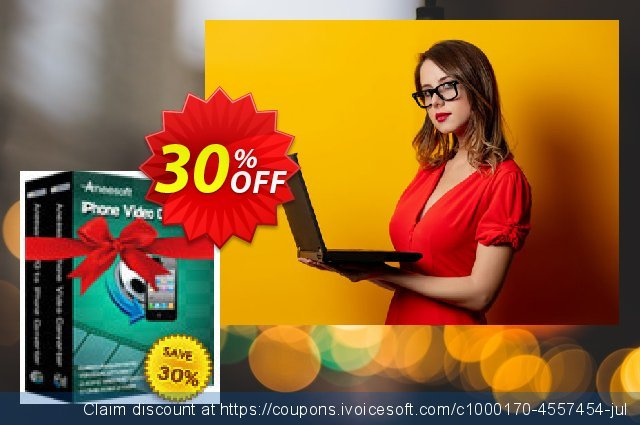Aneesoft iPhone Converter Suite discount 30% OFF, 2020 New Year offering sales