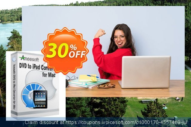 Aneesoft DVD to iPad Converter for Mac特殊销售 软件截图