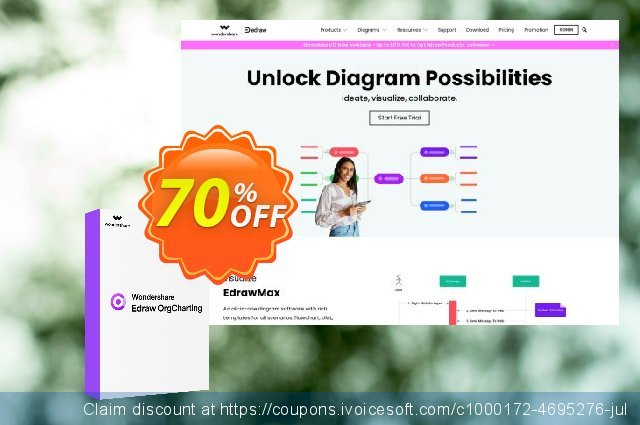 Org Chart Creator Lifetime License discount 20% OFF, 2020 Back to School coupons offering sales