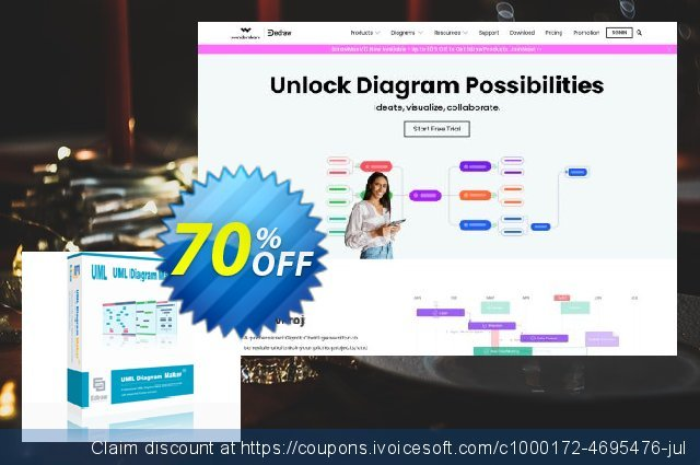 UML Diagram Maker Lifetime License discount 70% OFF, 2020 Halloween offering discount