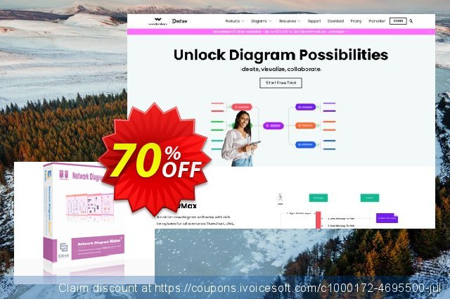 Network Diagram Maker Perpetual License discount 20% OFF, 2019 Halloween offering sales