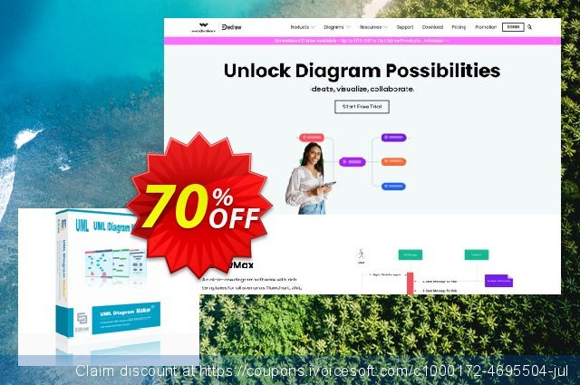 UML Diagram Maker Perpetual License discount 20% OFF, 2019 Back to School shopping offering sales