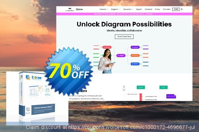 ScienceDraw Perpetual License discount 20% OFF, 2020 Back to School promo offering deals