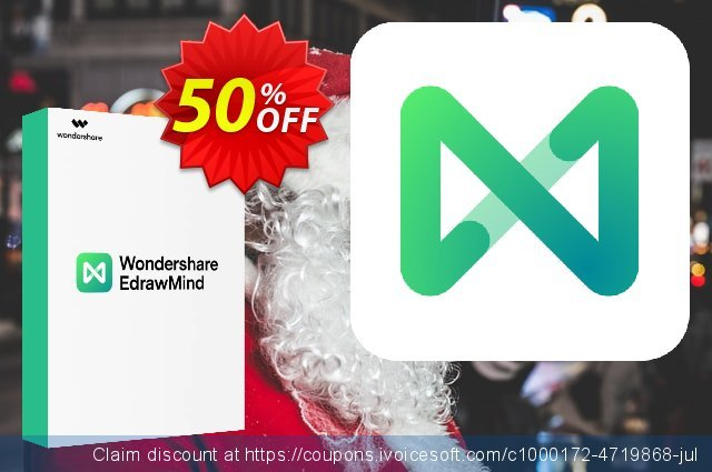 MindMaster Lifetime discount 50% OFF, 2021 Working Day offering sales. 10 dollar off for edraw max