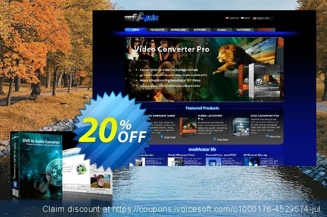 mediAvatar DVD to Audio Converter discount 20% OFF, 2019 Teacher deals offering sales