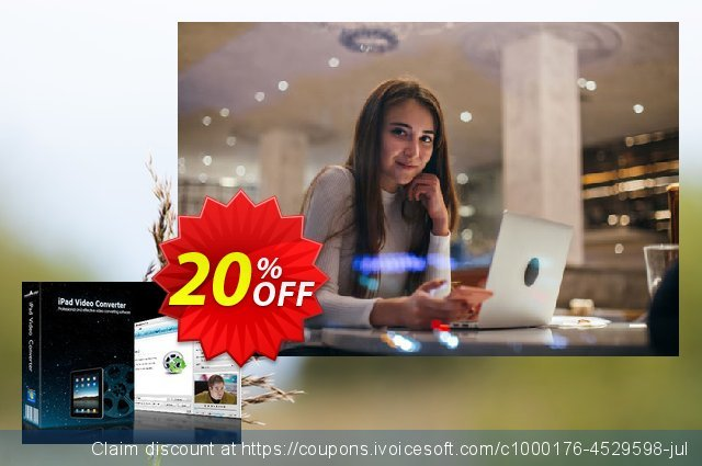 mediAvatar iPad Video Converter discount 20% OFF, 2019 College Student deals discounts