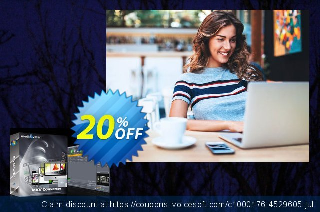 mediAvatar MKV Converter discount 20% OFF, 2020 Back-to-School promotions offering discount