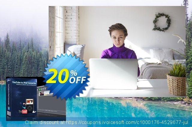 mediAvatar YouTube to iPod Converter discount 20% OFF, 2020 Exclusive Teacher discount sales