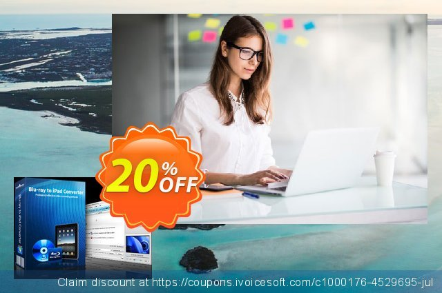 mediAvatar Blu-ray to iPad Converter discount 20% OFF, 2020 American Independence Day discounts