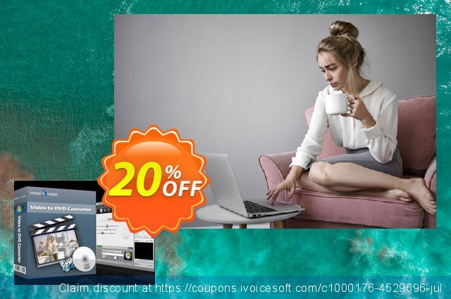 mediAvatar Video to DVD Converter discount 20% OFF, 2019 Exclusive Student discount deals