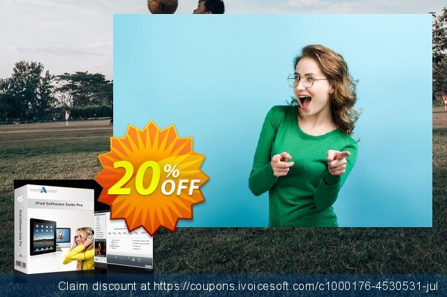 mediAvatar iPad Software Suite Pro for Mac discount 20% OFF, 2020 Father's Day offering sales