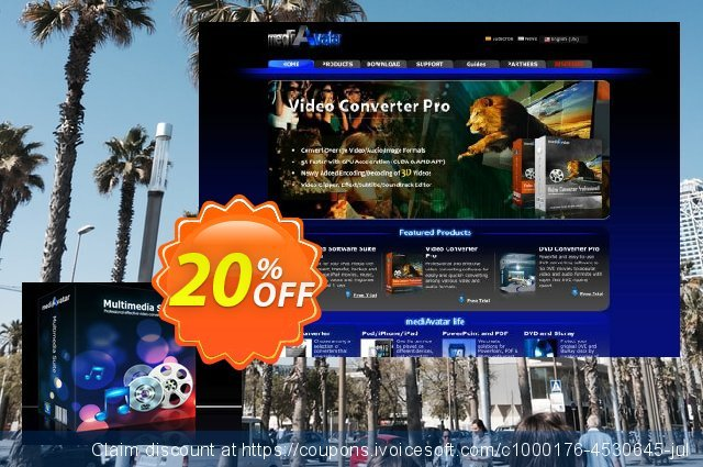 mediAvatar Multimedia Suite discount 20% OFF, 2020 New Year's Weekend offering sales