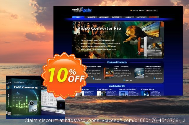 mediAvatar FLAC Converter discount 10% OFF, 2020 Working Day discounts