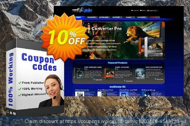 mediAvatar FLAC Converter Mac discount 10% OFF, 2020 July 4th deals