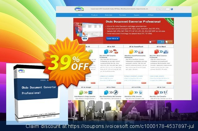 Get 39% OFF Okdo Document Converter Professional offering discount
