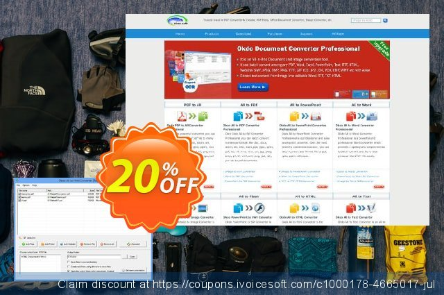 Okdo All to Html Converter discount 20% OFF, 2021 Happy New Year promo sales