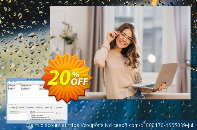 Okdo All To Text Converter discount 20% OFF, 2021 New Year's Weekend offering sales