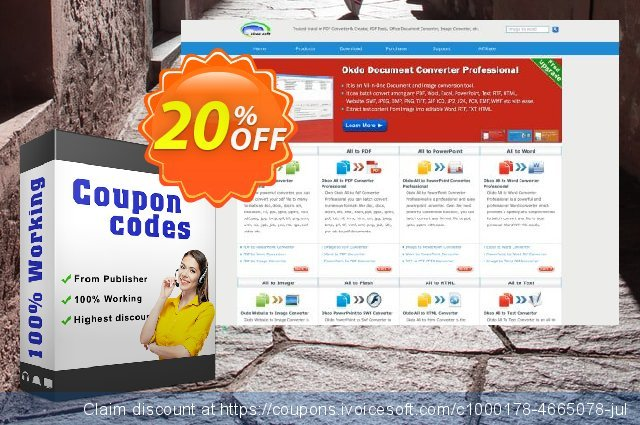 Okdo Excel to Html Converter discount 20% OFF, 2021 Happy New Year offering sales