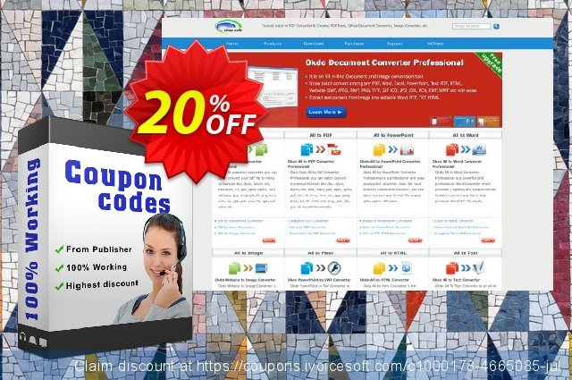 Okdo Gif Jpg Bmp to Tiff Converter discount 20% OFF, 2021 Happy New Year promotions
