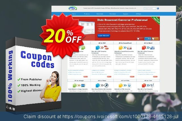 Okdo Pdf to Rtf Txt Converter discount 20% OFF, 2021 January offering discount