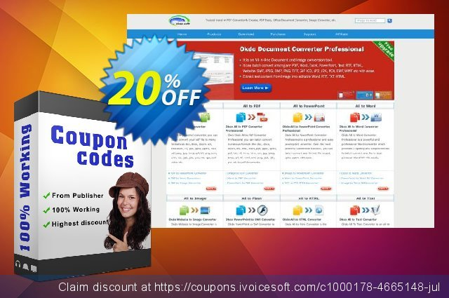Okdo PowerPoint to Swf Converter discount 20% OFF, 2021 Happy New Year offering sales