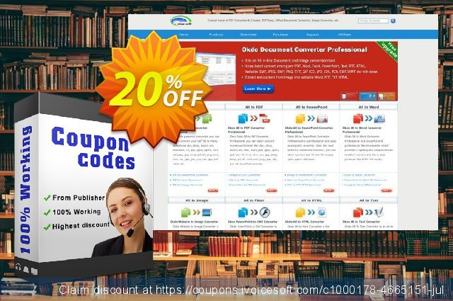 Okdo Ppt Pptx to Jpeg Converter discount 20% OFF, 2021 New Year's Weekend promo