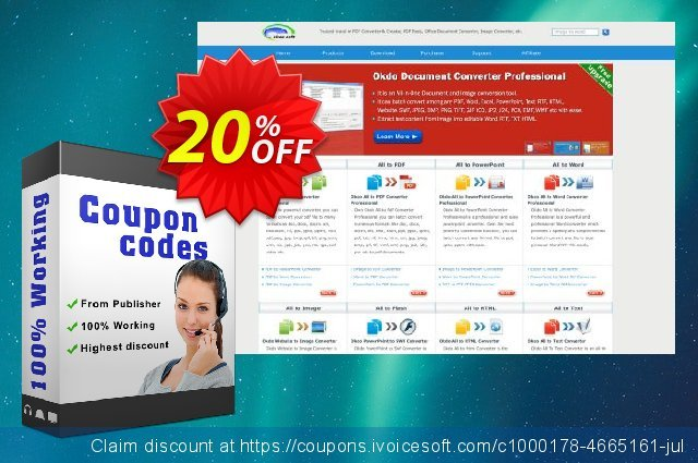 Okdo Ppt to Swf Converter discount 20% OFF, 2019 Black Friday offering sales