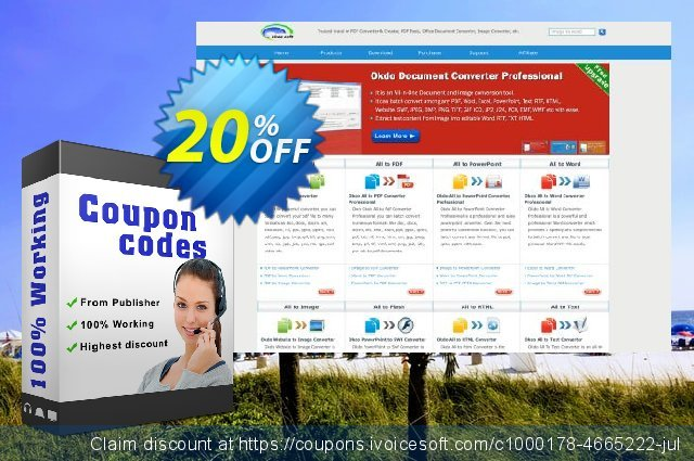 Okdo Word to Image Converter discount 20% OFF, 2021 Spring discount