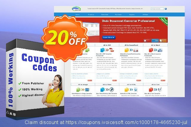 Okdo Xls to Ppt Converter discount 20% OFF, 2021 New Year offering sales