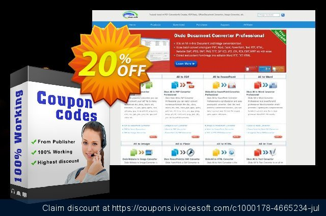 Okdo Xls Xlsx to Jpeg Converter discount 20% OFF, 2021 Happy New Year offering sales