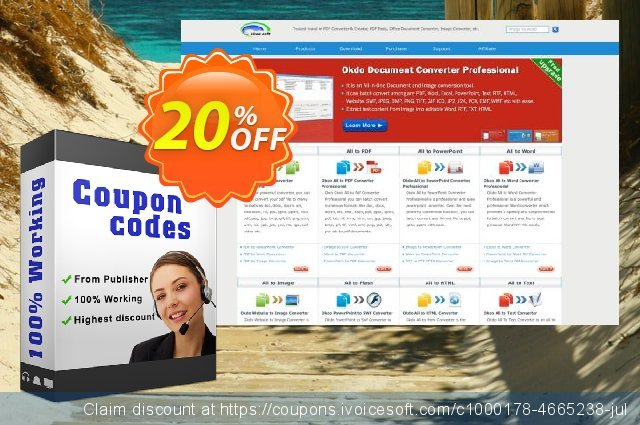 Okdo Word Merger discount 20% OFF, 2021 New Year's Day sales