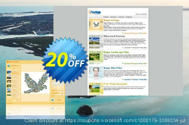 Magic Collage discount 20% OFF, 2020 Halloween promo sales