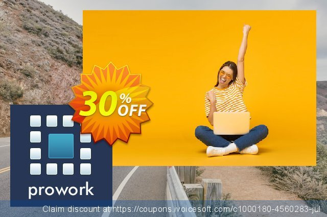 Prowork Basic Monthly Plan discount 30% OFF, 2020 Back to School Promos deals