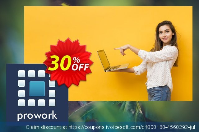 Prowork Business Monthly Plan discount 30% OFF, 2020 Back to School season offering sales
