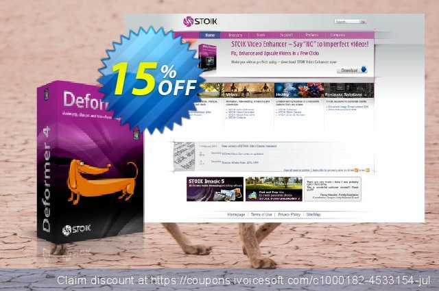 STOIK Deformer discount 15% OFF, 2019 Christmas Day promotions