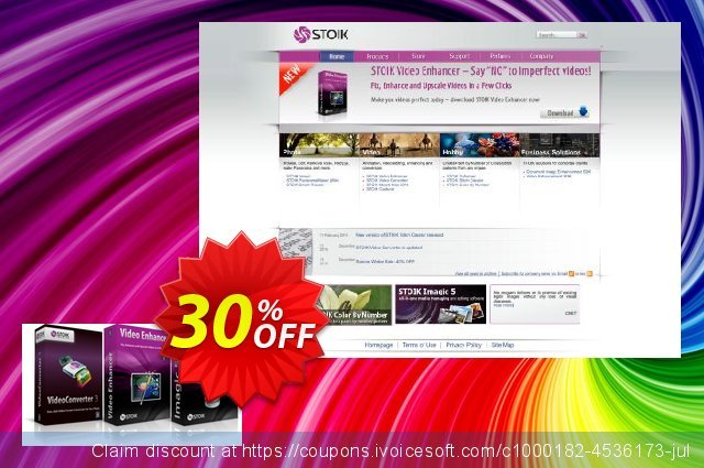 STOIK Video Suite discount 30% OFF, 2019 Thanksgiving offering sales