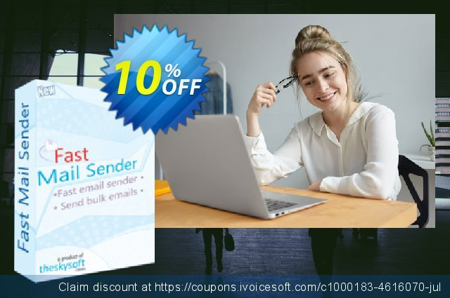 TheSkySoft Fast Mail Sender discount 10% OFF, 2020 Happy New Year discount