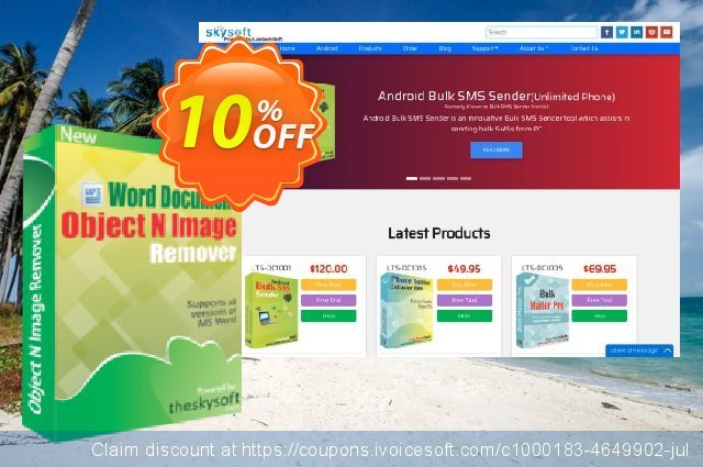 TheSkySoft Word Document Object & Image Remover 激动的 促销销售 软件截图