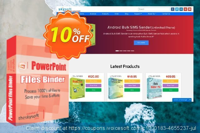 TheSkySoft PowerPoint Files Binder 独占 产品销售 软件截图