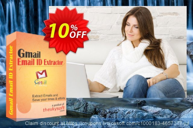 TheSkySoft Gmail Email ID Extractor  경이로운   제공  스크린 샷