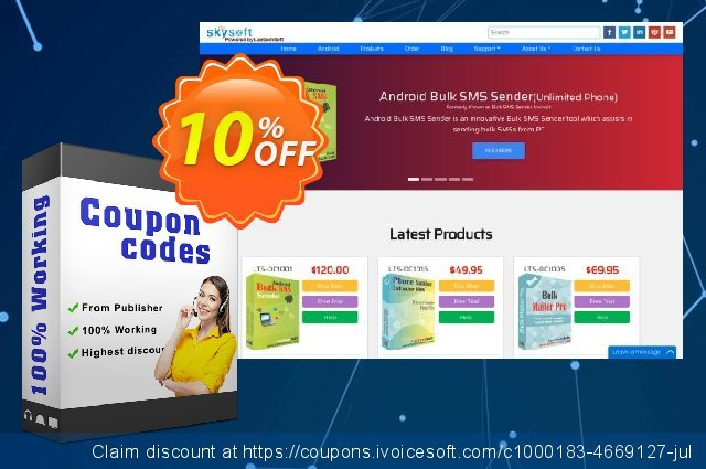 TheSkySoft Bundle Internet Email Extractor + Fast Mailer discount 10% OFF, 2021 Talk Like a Pirate Day deals. 10%Discount
