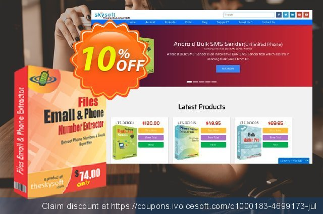 Files Email and Phone Number Extractor discount 10% OFF, 2019 Back to School deals promo