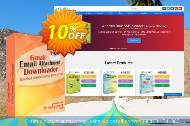 Gmail Email Attachment Downloader discount 10% OFF, 2019 Black Friday offering sales