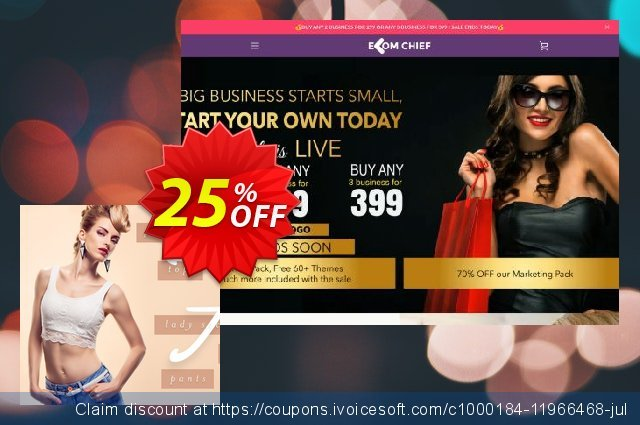 Fashion Clothing Store discount 25% OFF, 2020 Summer offering sales